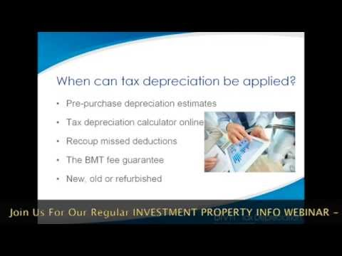 Property For Sale: Depreciation Tax Loopholes For Property Investors