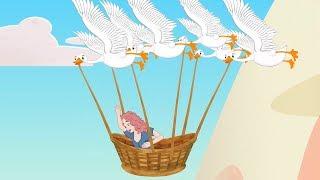 PUTRI DAN SANG ANGSA LIAR   Cerita Sebelum Tidur   Indonesian Fairy Tales And Stories