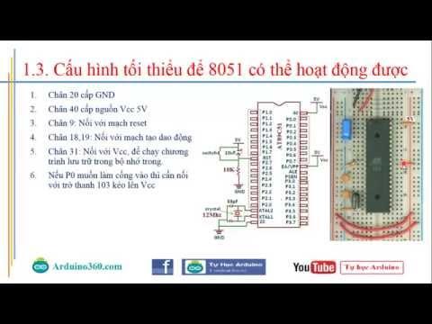 Tự học 8051:  Bài 1 - Giới thiệu về 8051