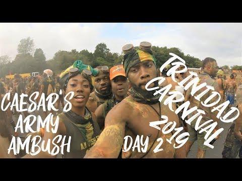 Caesar's Army AMBUSH - Trinidad Carnival 2019 Day 2 Vlog