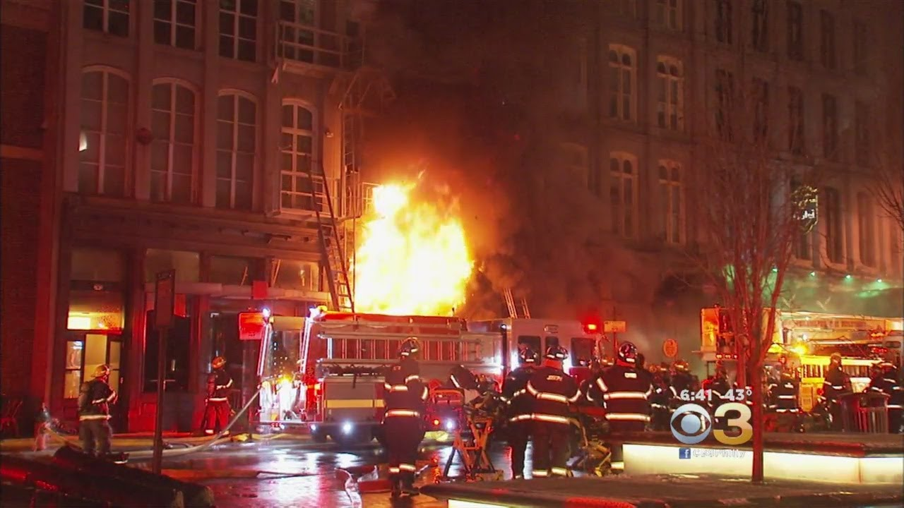 Crews Place 4-Alarm Old City Fire Under Control, Scene Remains Active