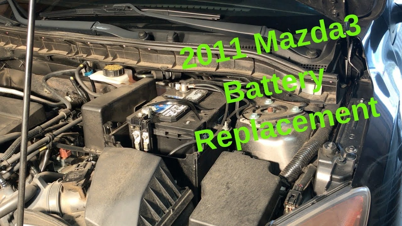 Mazda 3 Battery >> How To Replace A Car Battery 2011 Mazda3 2 5l Youtube