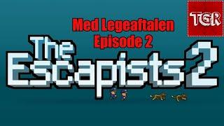 The Escapists 2 | Collab med LegeAftalen | EP2 [Dansk Gameplay ]
