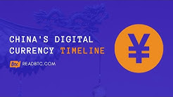 China's Digital Currency (Yuan), Bitcoin And Cryptocurrency - Timeline Of Recent Events