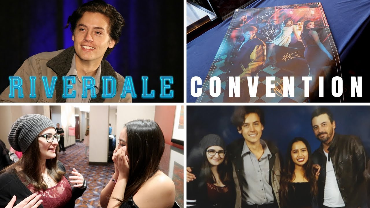 Vlogging The First Ever Riverdale Convention And Meeting Cole