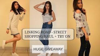 STYLE ON A BUDGET I HUGE LINKING ROAD TRY ON HAUL I LIV IT UP WITH MILONI I GIVEAWAY CLOSED