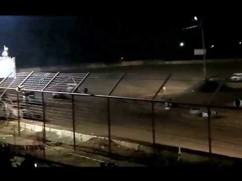 Vintage Car Feature Race at Gulf Coast Championships Flomaton Speedway Nov 30, 2013