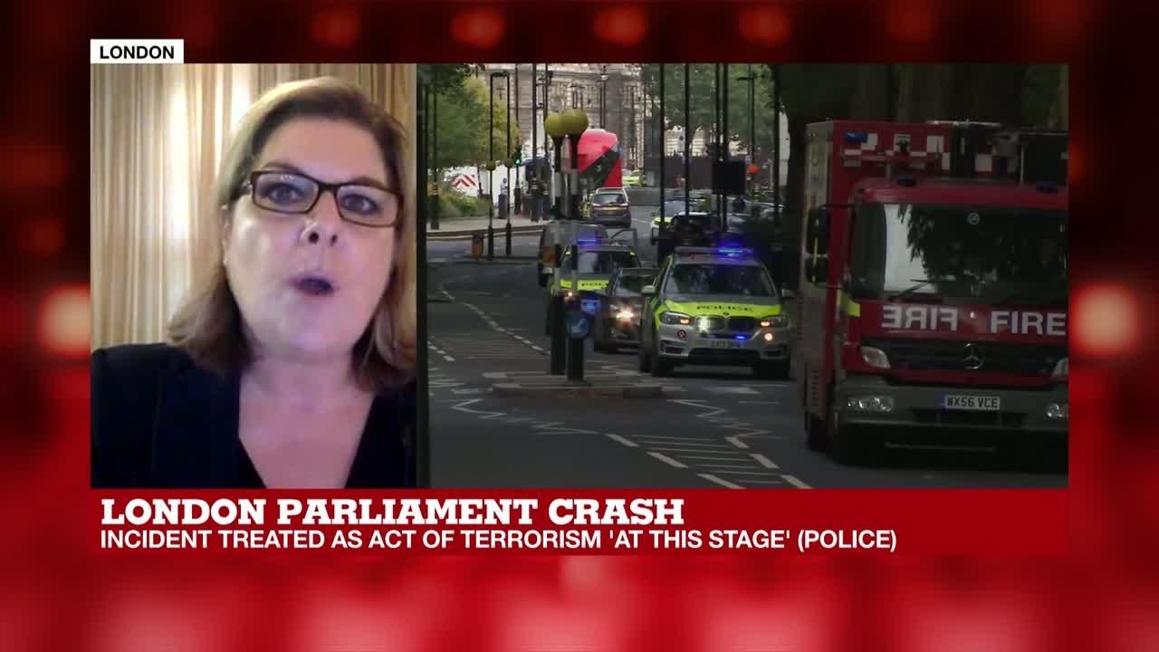 فرانس 24:London Parliament crash: UK emergency response committee to meet