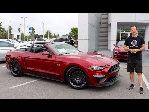 Is The 2018 Roush Stage 2 Mustang Convertible A Serious Performer Youtube