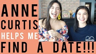 Anne Curtis Helps Me Find A Date + GIVEAWAY (CLOSED)! | Nicole Andersson