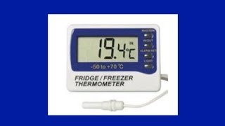Quick Tip:  Refrigerator Thermometers For Power Outages