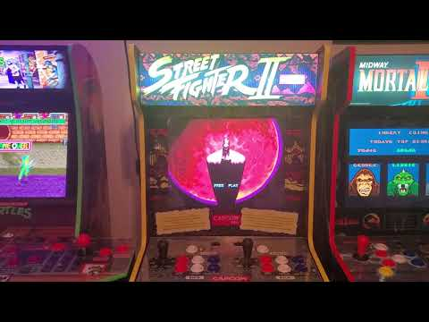 ARCADE1UP COUNTDOWN!! RANKING MY LEAST PLAYED ARCADE1UP TO MY MOST PLAYED from Steve V's Man Cave Arcade