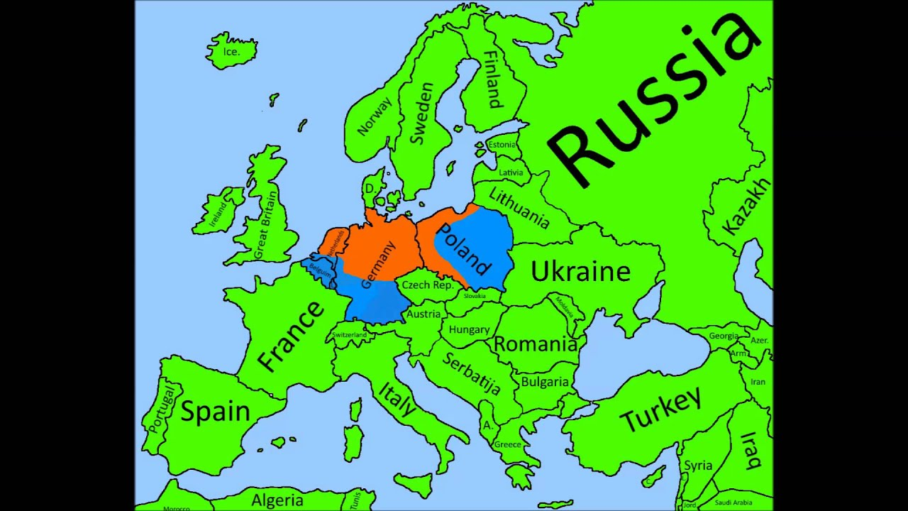 Future Of Europe S E Nice Hungary YouTube - Portugal vegetation map