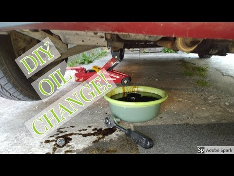 HOW TO CHANGE YOUR ENGINE OIL FOR HYUNDAI EON