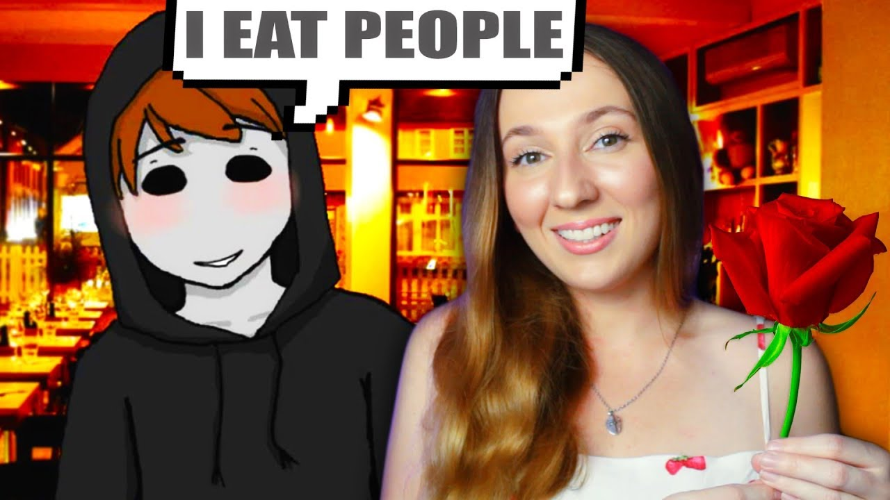 Who created this FREAKY DATING GAME?! | A Date With Eyeless Jack