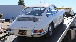 1965 Porsche 912 Arrival after Restoration