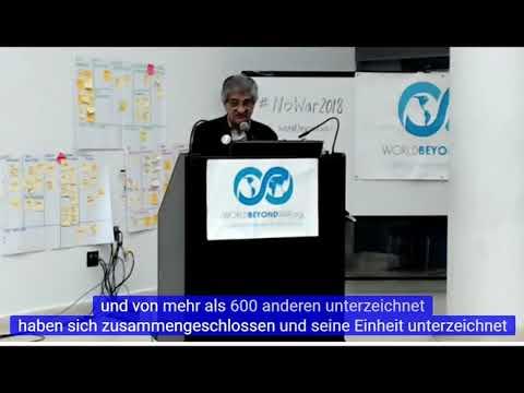 #NoWar2018 - 1. Konferenz gegen US & NATO Militärstützpunkte