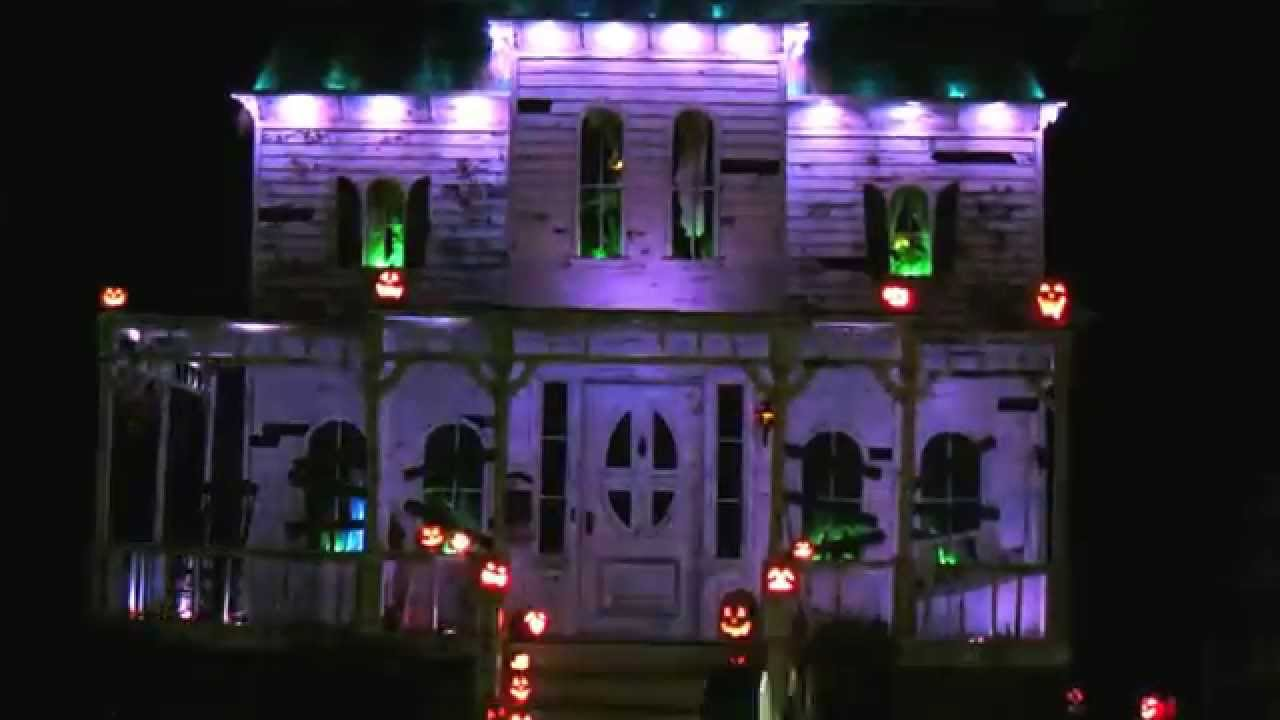 Hollywood haunter 39 s haunted house haunt sneak peek youtube for Homemade haunted house effects