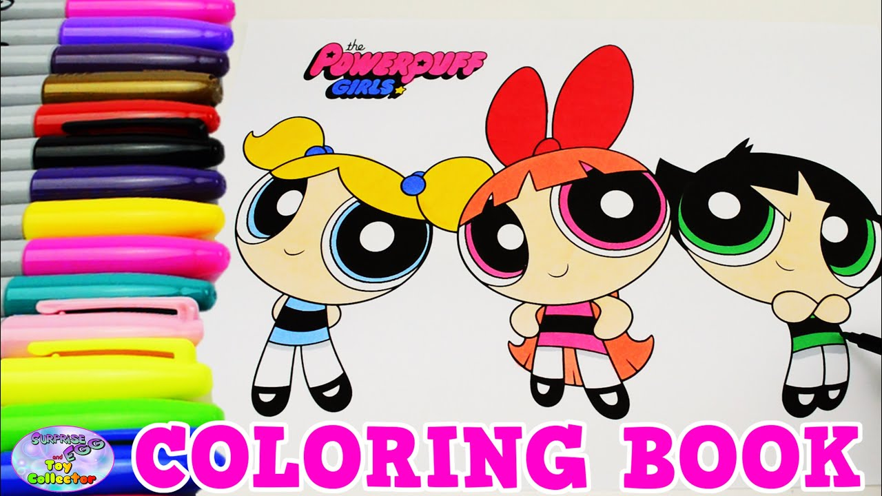 The Powerpuff Girls Coloring Book Blossom Bubbles Episode Surprise ...