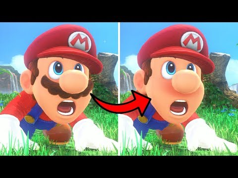 What happens when Mario shaves? - YouTube