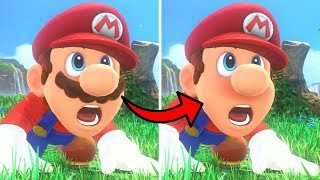 What happens when Mario shaves?