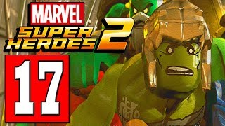 LEGO Marvel Super Heroes 2 Walkthrough Part 17 UNDER WATER CITY OF LEMURIA / THE RED KING Defeated