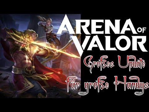 AoV -  Großes Update - Aber auch viel neues? O.o | Arena of Valor German Deutsch