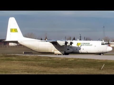 Lynden Air Cargo Lockheed 382G (C130) departing Montreal (YUL/CYUL)