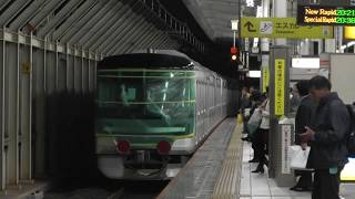 日比谷線13000系・小田急3000形中間車 甲種輸送 岐阜駅・名古屋駅 thumbnail