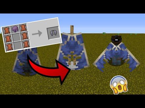 видео: НАШЕЛ СЕКРЕТНЫЙ КРАФТ ЭЛИТРЫ В Minecraft Pe 1.12.0.3 - ПОЛНЫЙ ОБЗОР АДДОНА