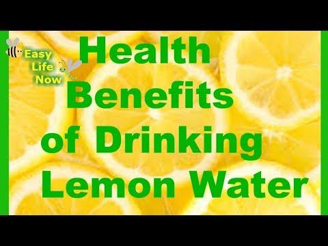 Health Benefits of Drinking Lemon Water 2017 - Lemon Water benefits