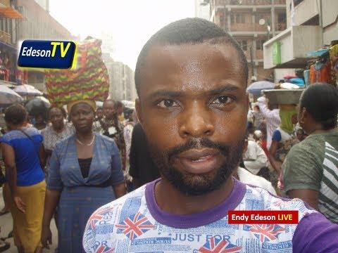 Inside Balogun Market, Lagos State