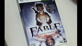 Fable Anniversary (Xbox 360) Unboxing