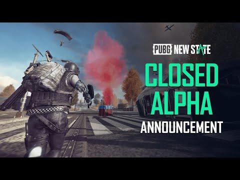 PUBG: NEW STATE | Closed Alpha Announcement