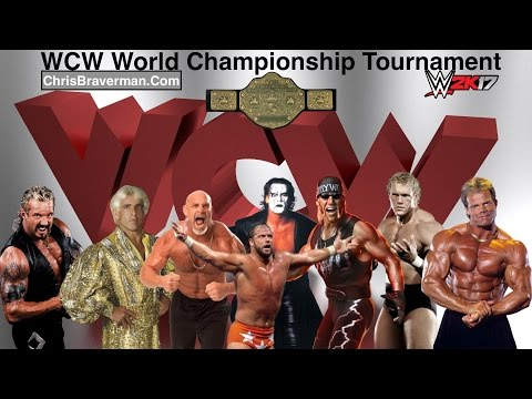 WCW World Title Tournament - WWE 2K17 (First Round)