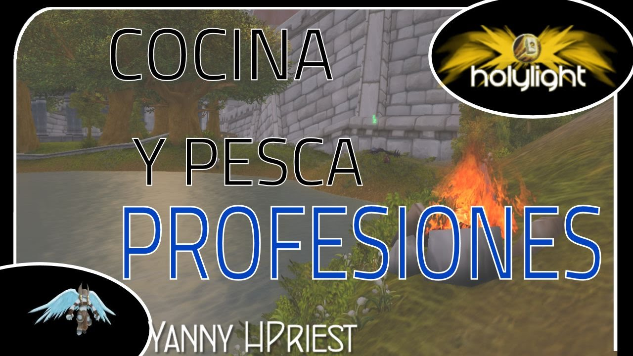 cocina y pesca profesiones legion world of warcraft