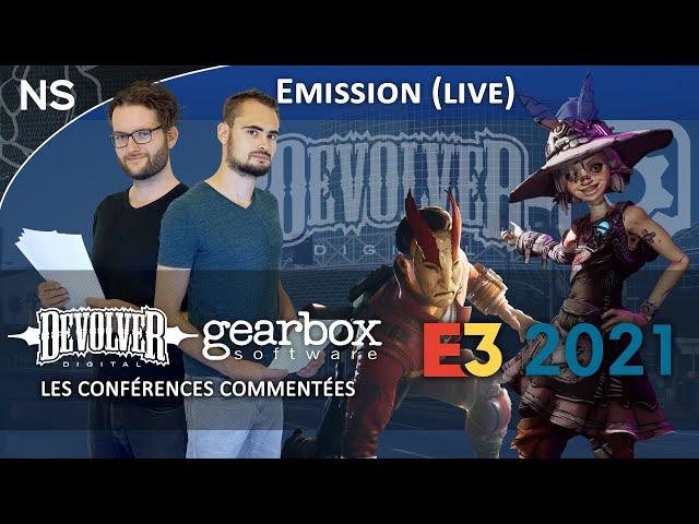 E3 2021 : Devolver Digital et Gearbox, les conférences commentées !