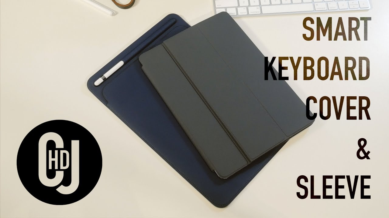 Apple iPad Pro 10.5 Smart Keyboard Cover and Sleeve – Hands-on Review