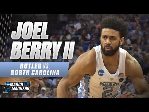 Joel Berry leads North Carolina past Butler in Sweet 16 Victory