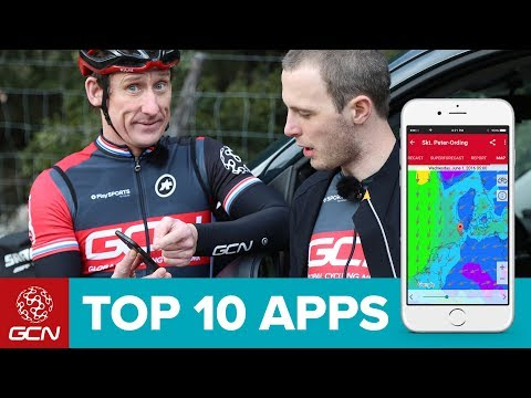 GCN's Top 10 Cycling Apps