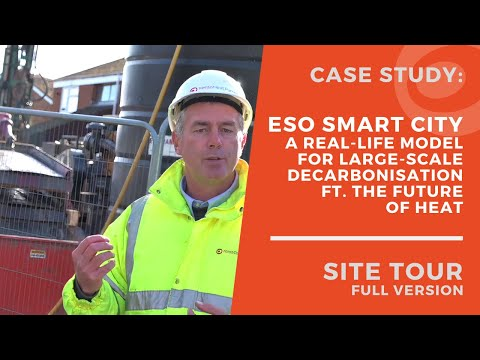 Virtual Tour of Energy Superhub Oxford's Smart Renewable Heating Trial - Hosted by Kensa Contracting