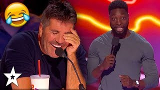 FUNNY STAGE MOMENTS on America's Got Talent 2019 | Got Talent Global