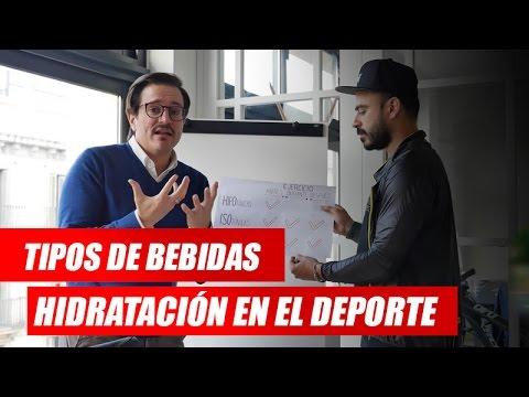 HIDRATACIÓN DEPORTIVA: TIPOS DE BEBIDAS