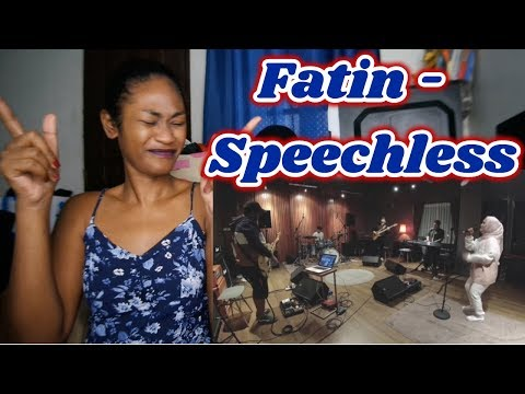 Download Fatin - Speechless Naomi Scott Cover | Reaction Mp4 baru