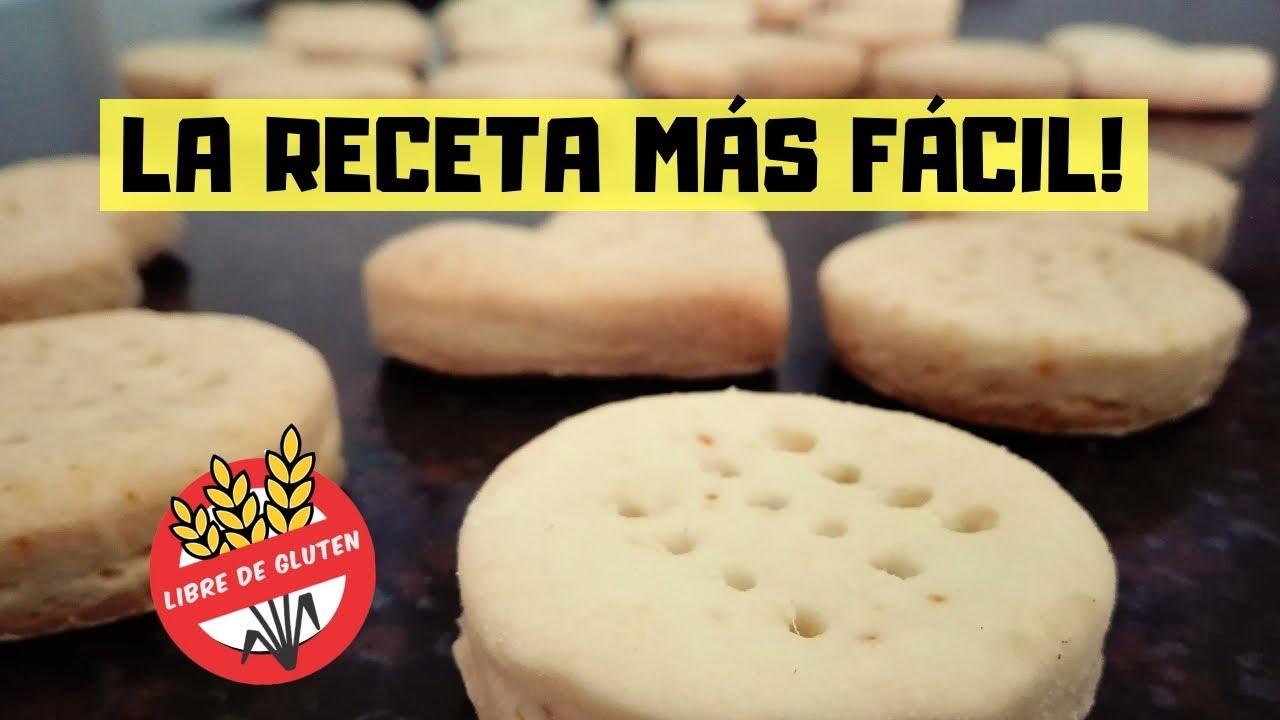Recetas De Cocina Para Celiacos | Como Hacer Bizcochitos Para Celiacos Receta Libres De Gluten