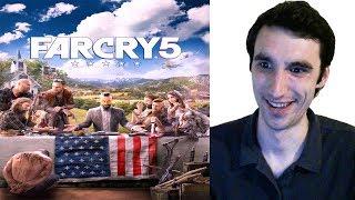 Far Cry 5 Официальный Русский Трейлер - 2017 ( Реакция )