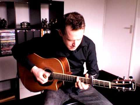 acoustic guitar original in open d tuning