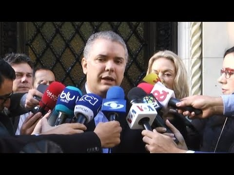 Desde EEUU, Duque le dice a Maduro que no caerá en provocaciones   Noticias RCN