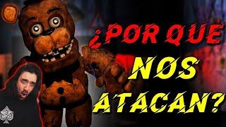 ¿Por Qué Nos Atacan Los Animatrónicos de FNaF? | Teoría FNaF | Five Nights at Freddy's | BERSGAMER