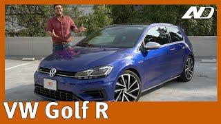 Volkswagen Golf R - Un Super Hot Hatch redondo